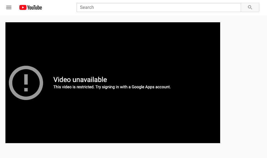 Blocking YouTube on Your Network