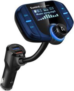 Sumind Car Bluetooth FM Transmitter