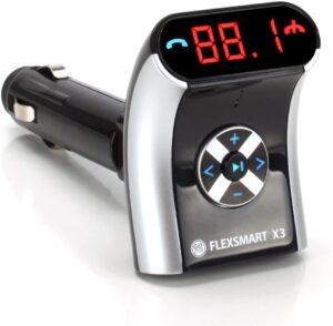 GOgroove FlexSMART X2 Bluetooth FM Transmitter