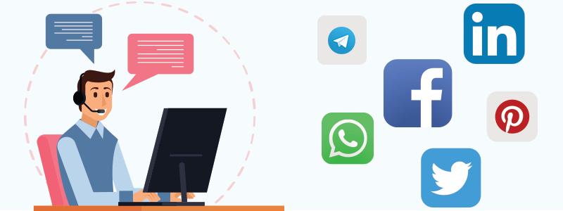 For Online Customer Service, Use Social Media