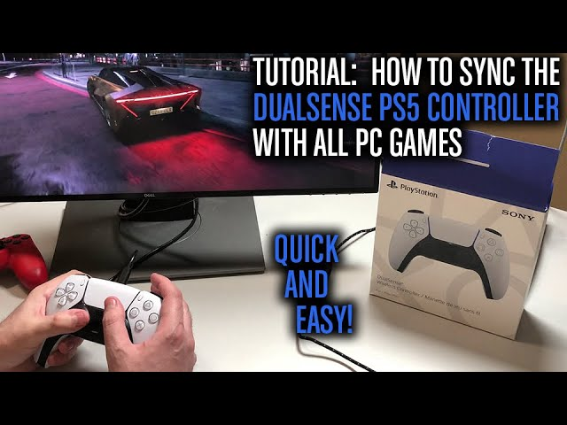 How To Connect Ps5 Controller To PC