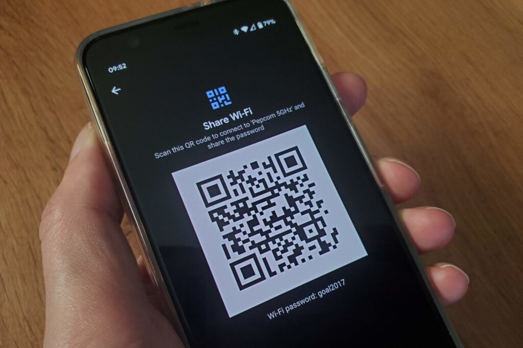 Share Wifi Password Android