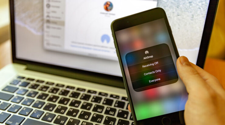 How to Turn On AirDrop And Use It On An iPhone And Mac