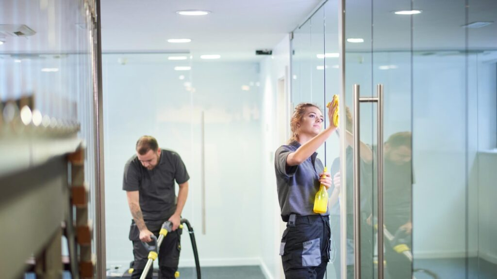Some Advantages Of Hiring Building Cleaning Services