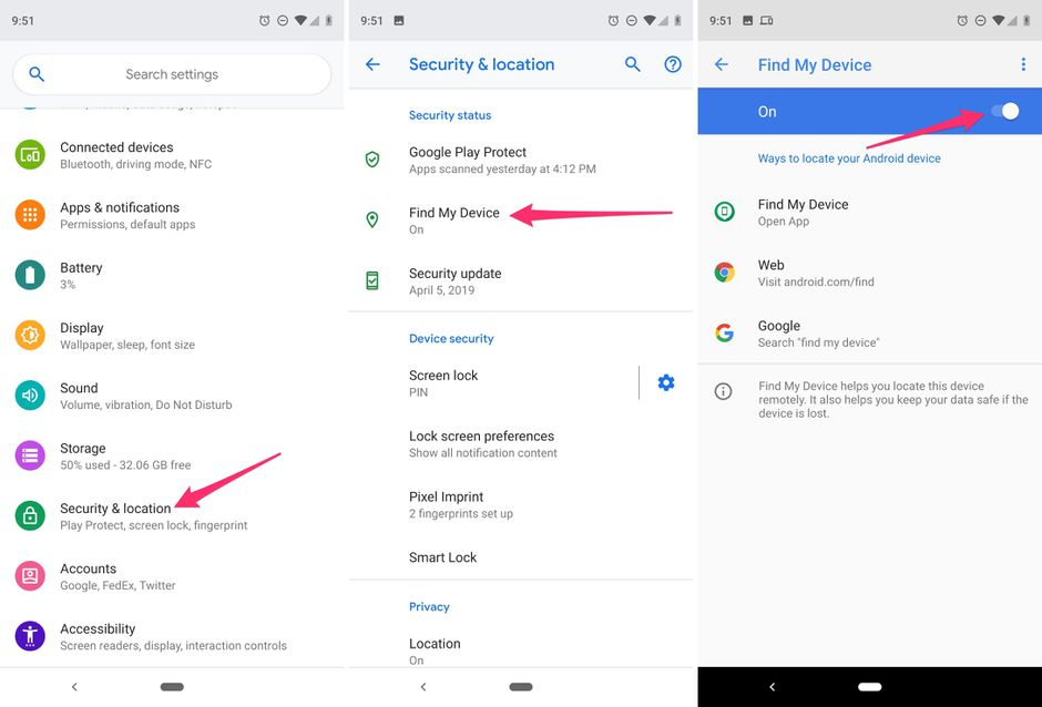 How To Turn Off Find My Android Device