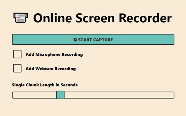 Online Screen Recorder