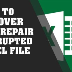 Corrupted Excel Files